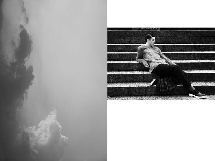 Elisabetta Cavatorta Stylist  - Francesco Brigida - Essential Homme USA