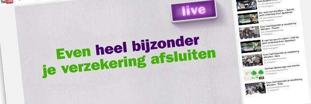 Wanneer u de komende weken Centraal Beheer Achmea belt, is de kans groot dat u te woord wordt gestaan door een bekende Nederlander.