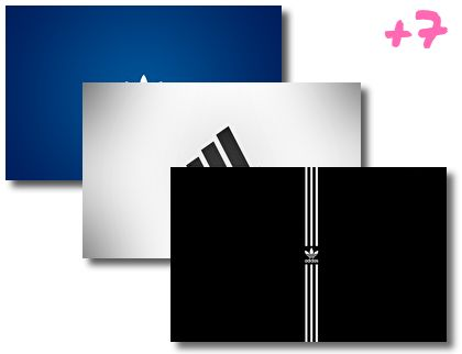 Adidas theme pack