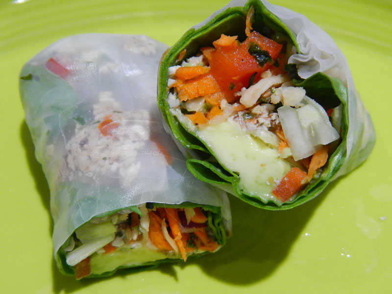Spring Roll Suggested Serving