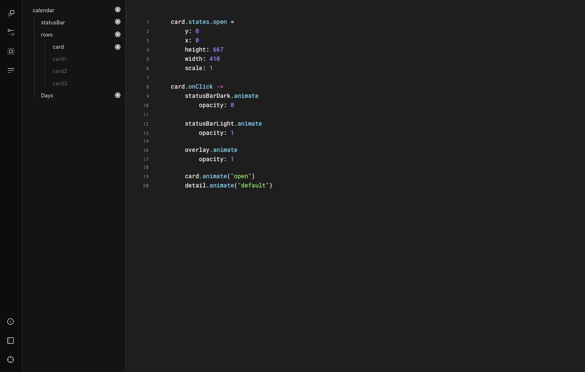 framer prototype window
