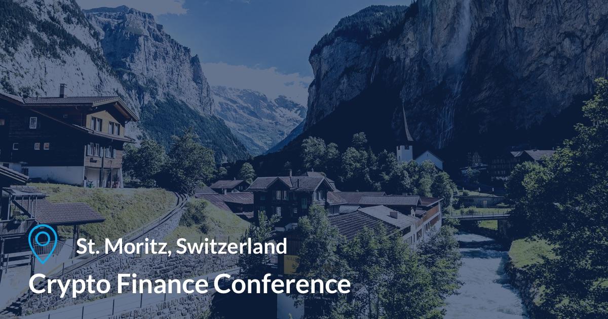 Crypto Finance Conference at St. Moritz, Switzerland