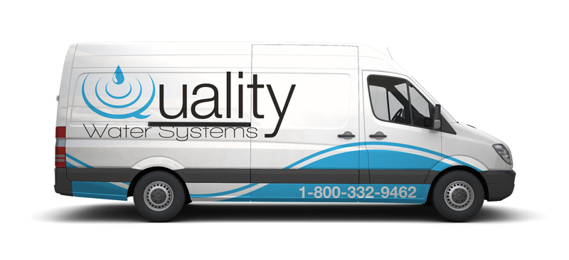 Quality Water Systems Van