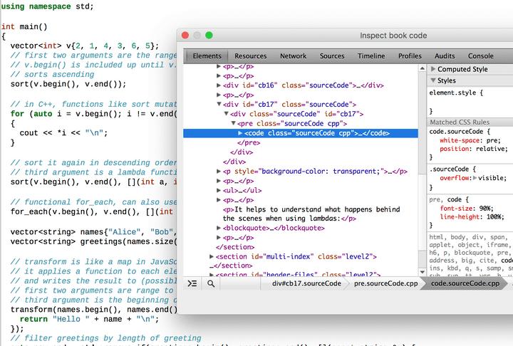 EPUB HTML Structure