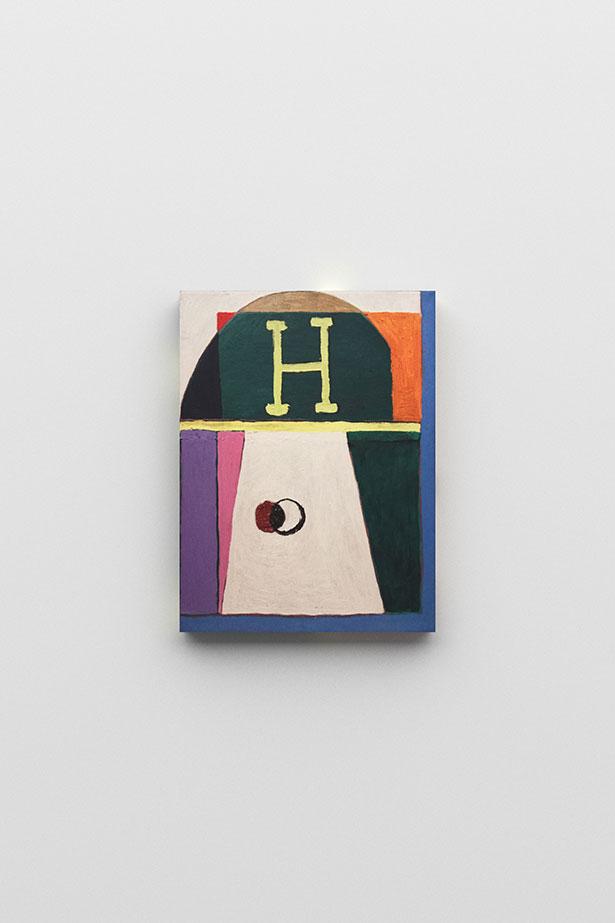 zoom: Hermes, 2016                oil on canvas                40 × 30 cm