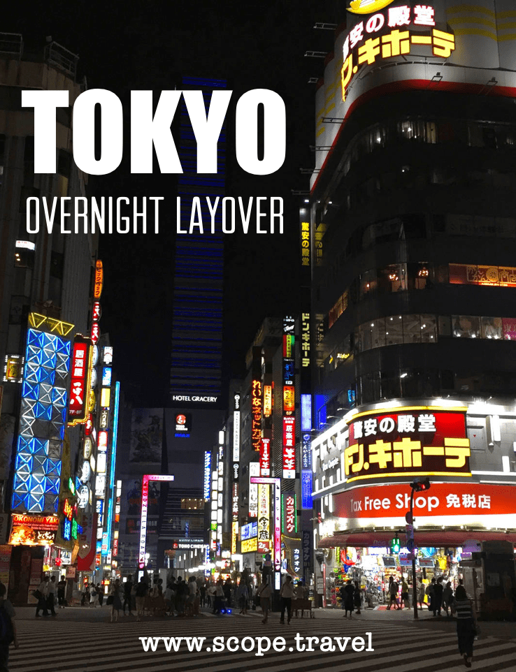 Pinterest overnight layover in tokyo