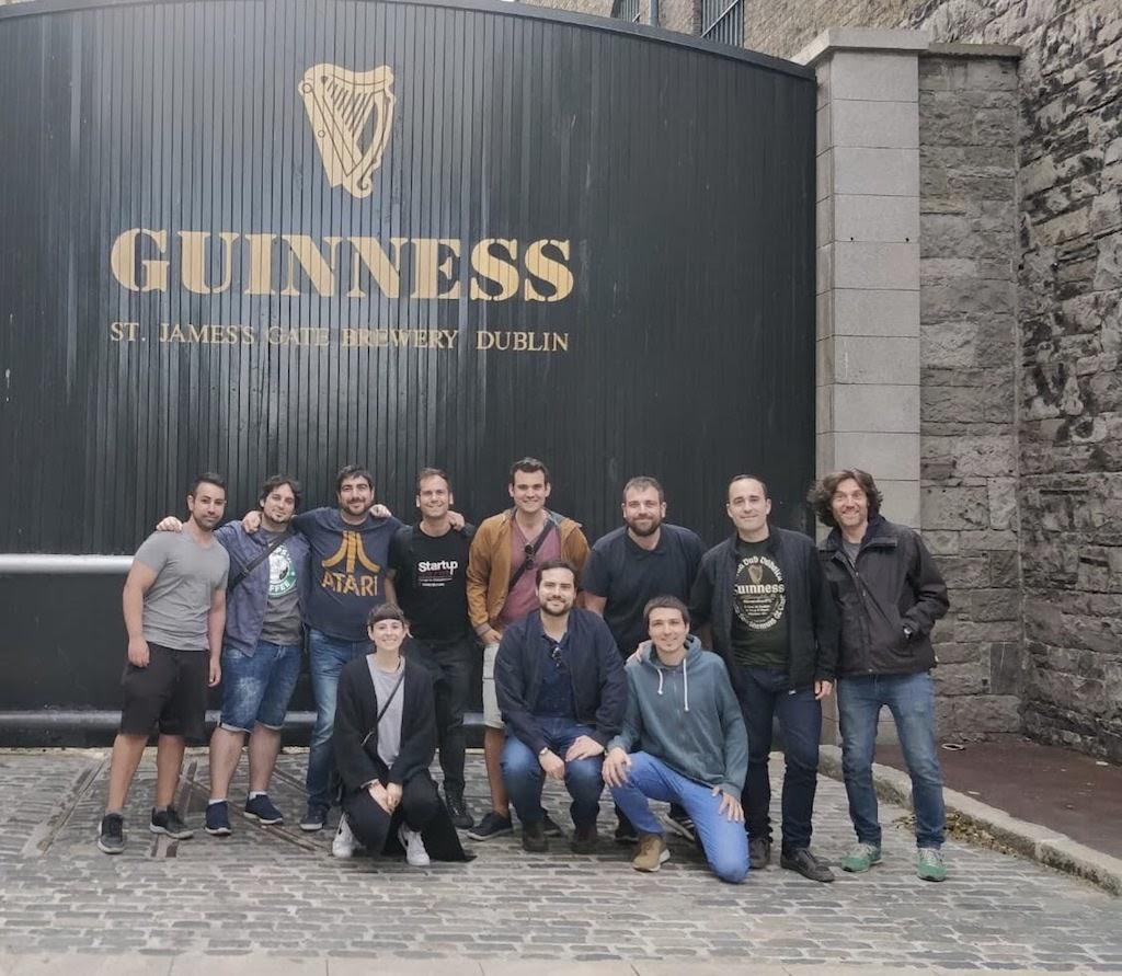 The MarsBased team in Dublin