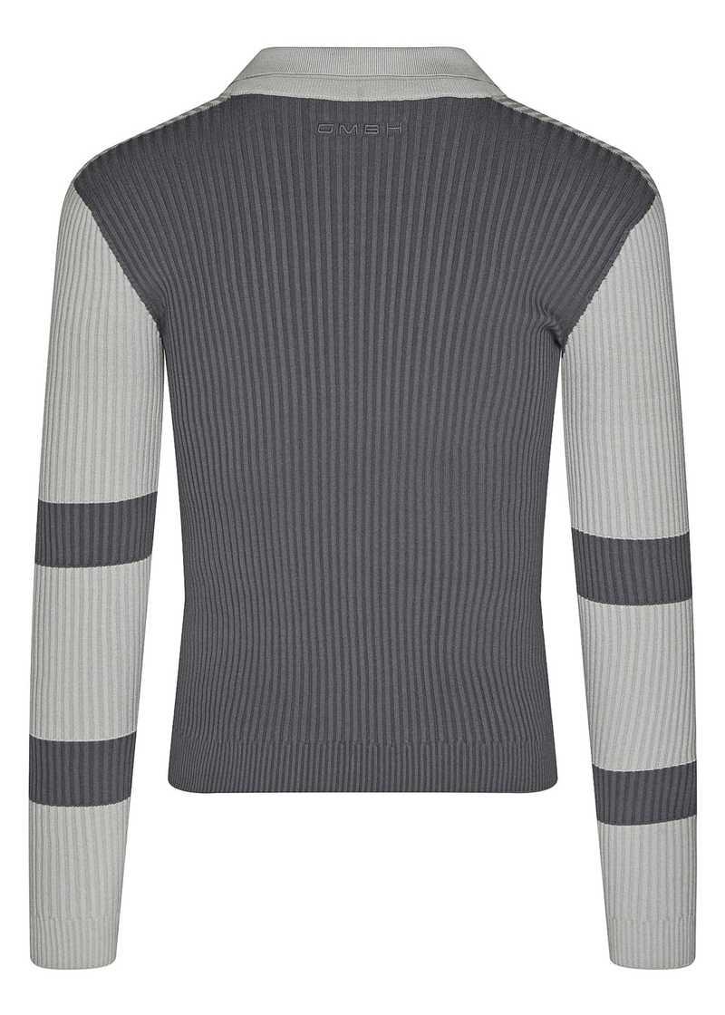 RAN longsleeve top dark grey/light grey. GmbH Spring/Summer 2021 'RITUALS OF RESISTANCE'