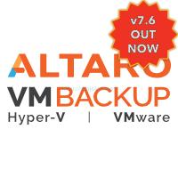 Altaro VM Backup Release logo