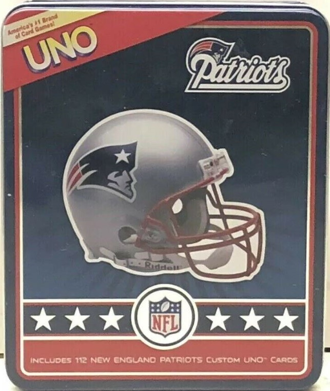 New England Patriots Uno (2009)