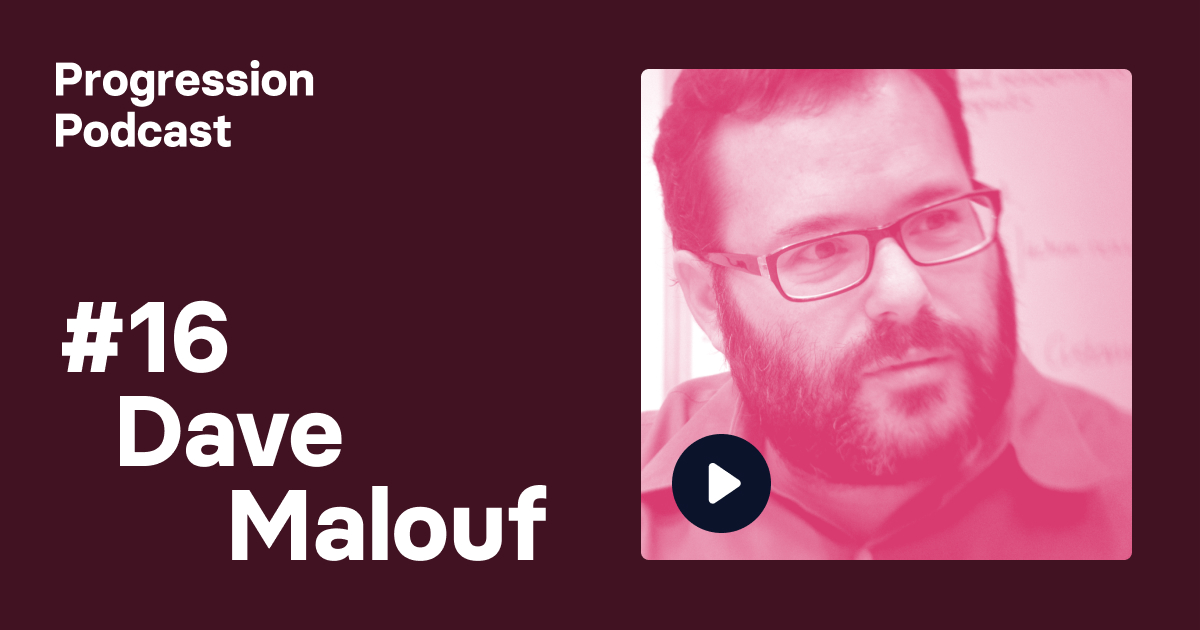 Podcast #16: Dave Malouf on Design Ops and the power of speaking on stage