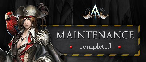 Maintenance Completed