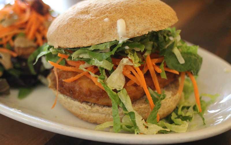 Vegan Chicken Run from Native Foods