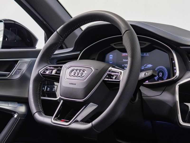 Audi A6 55 TFSI e quattro Competition Plug in Hybrid | 367PK | S-Line | B&O Sound | Nachtzicht | Camera | Adapt.Cruise | Head-Up | Trekhaak | Full Option | afbeelding 14