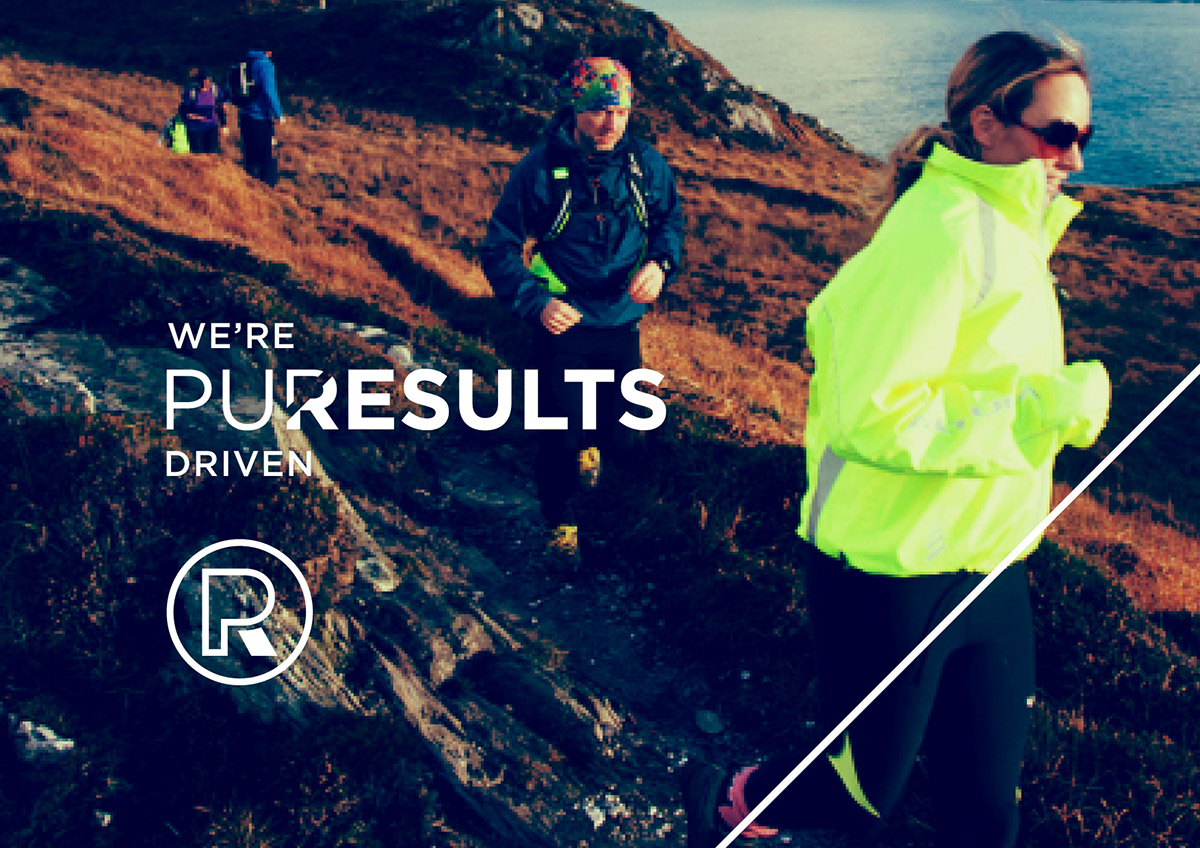 Pure Results brand visual