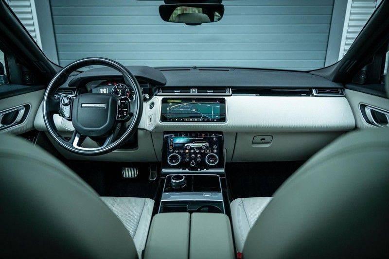 Land Rover Range Rover Velar 3.0 V6 SC AWD R-Dynamic HSE, 380 PK, Head/Up, Black/Optic, Adapt. Cruise, Pano/Dak, Luchtvering!! afbeelding 3