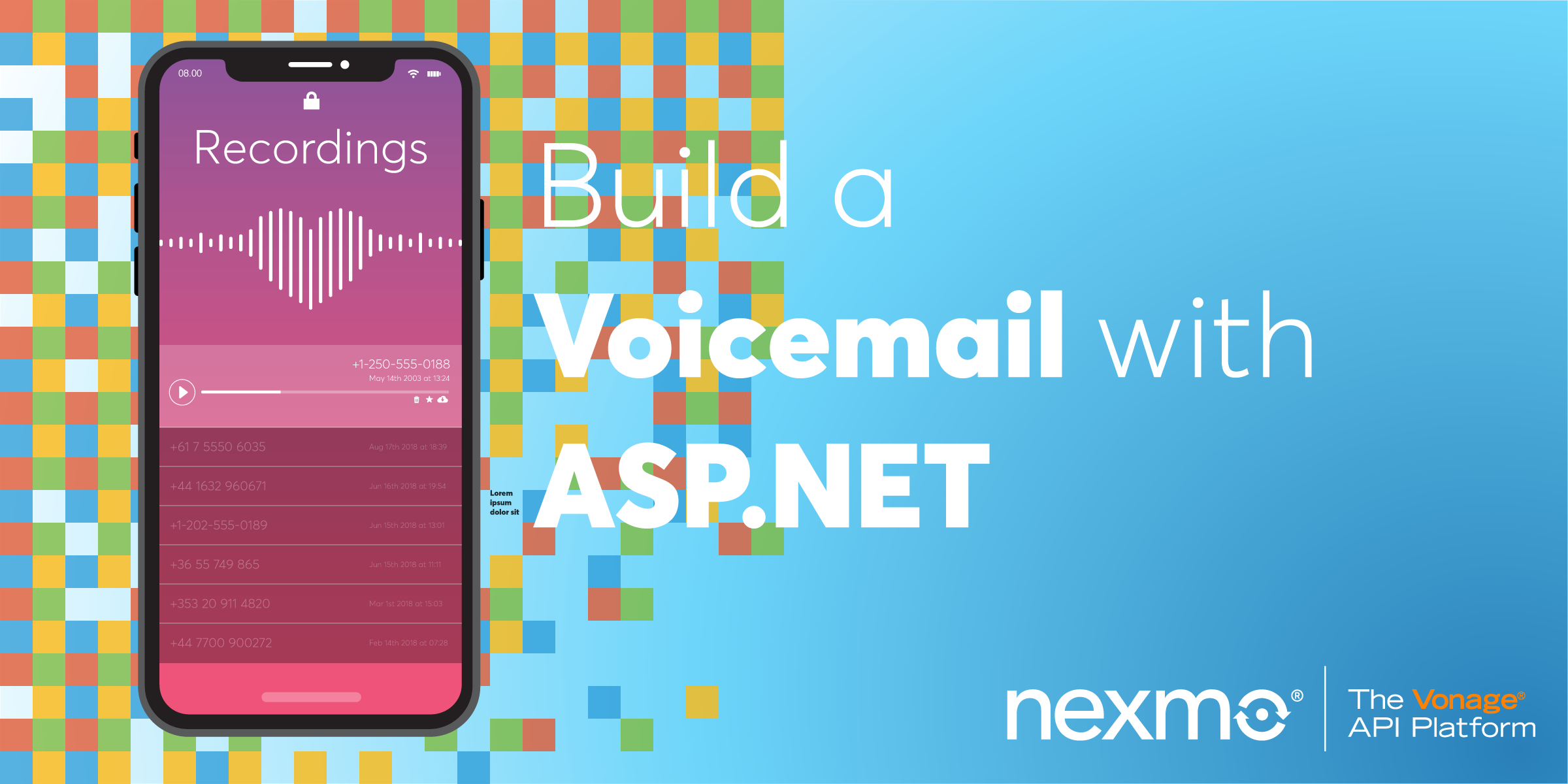 How To Build a Voicemail with ASP.NET Core and NancyFX