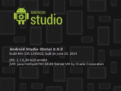Android Studio 0.8.0