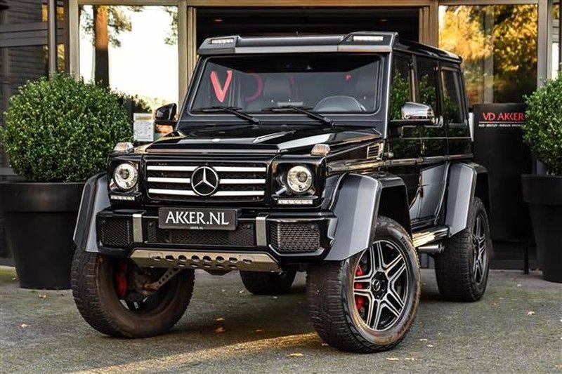 Mercedes-Benz G-Klasse G500 4x4² CARBON+SCH.DAK+AMG RIDE CONTROL afbeelding 1