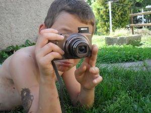 Poděkování za fotoaparát pro Sama