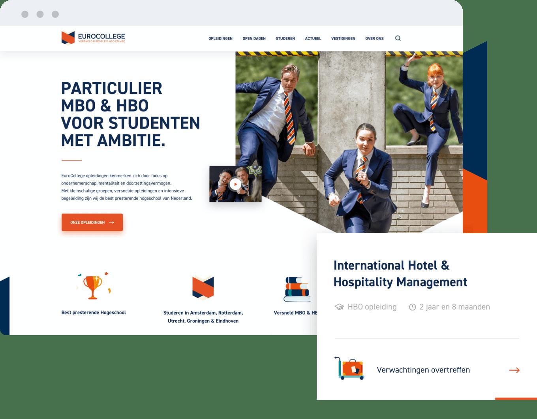 EuroCollege, voor studenten met ambitie