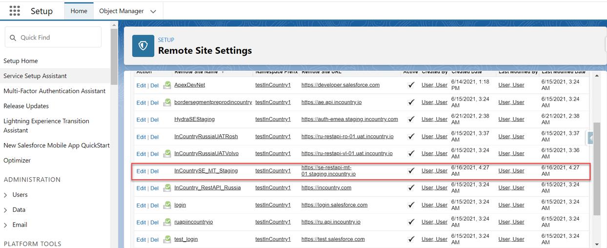 Register the REST API endpoint