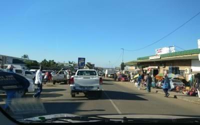 Op weg naar Sodwana Bay