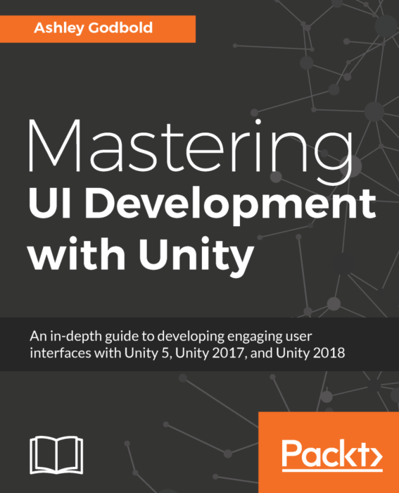 Mastering UI Development with Unity Book Cover