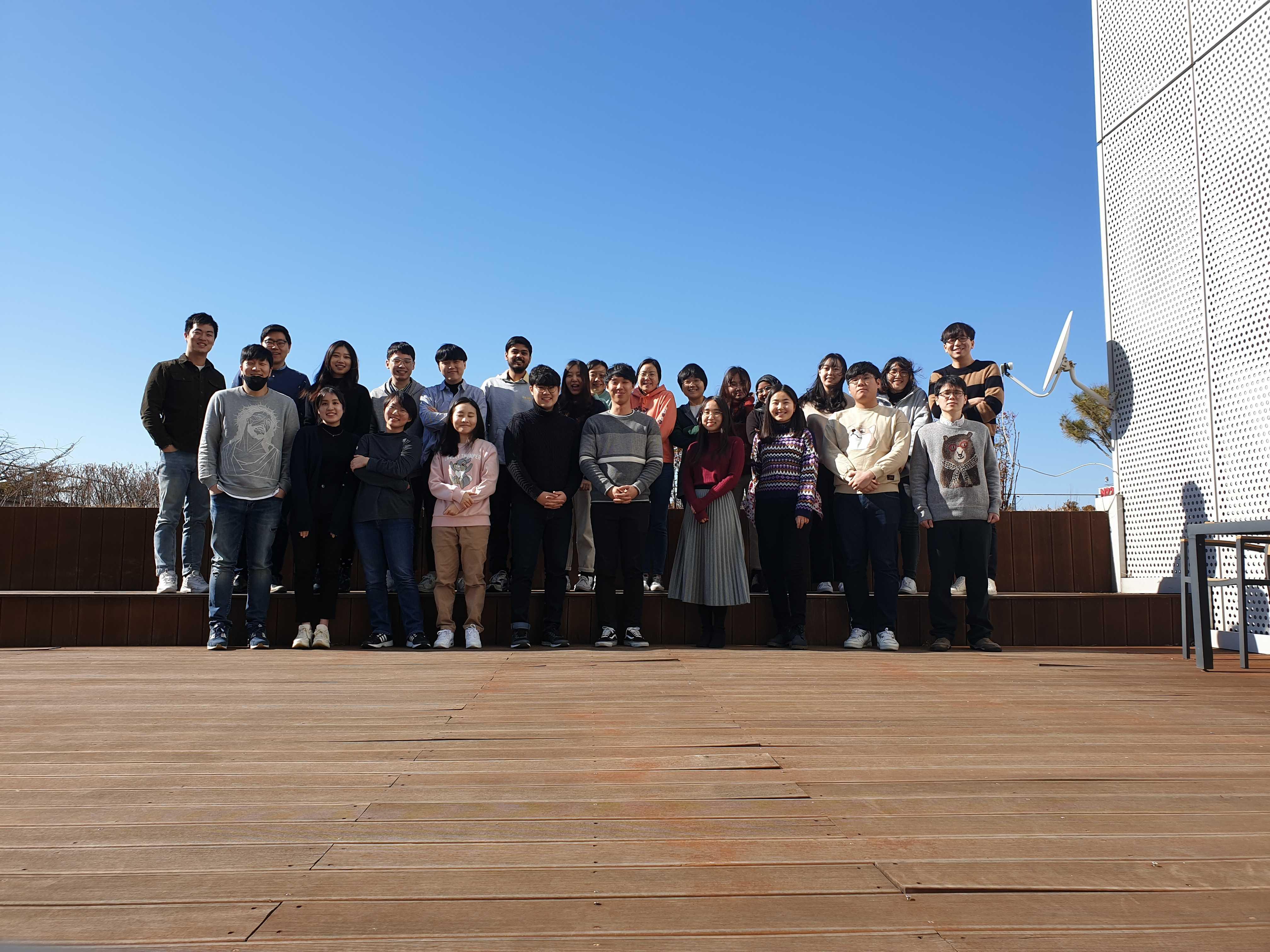 Photo of KIXLAB group, Feburary, 2020