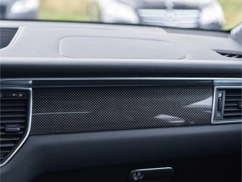 Porsche Macan 3.6 Turbo PDK 400pk Lucht Carbon Pano Zetels-18-weg Alcant.hemel Led Leder-dash afbeelding 20