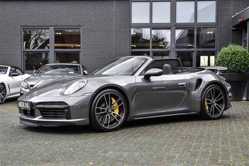 Porsche 911 TURBO S CABRIO ACC+ST.KOELING+MATRIX LED afbeelding 13