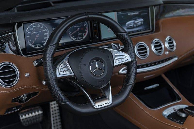 Mercedes-Benz S-Klasse 63 AMG S63 Cabriolet + AKRAPOVIC +  BURMESTER HIGH END + SWAROVSKI afbeelding 3