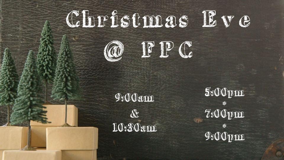Christmas @ FPC