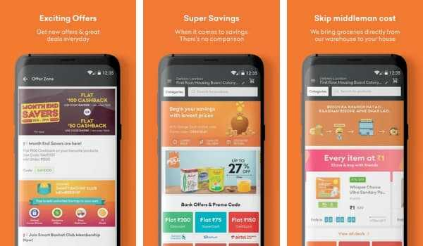 Gofers Online Grocery Shopping App