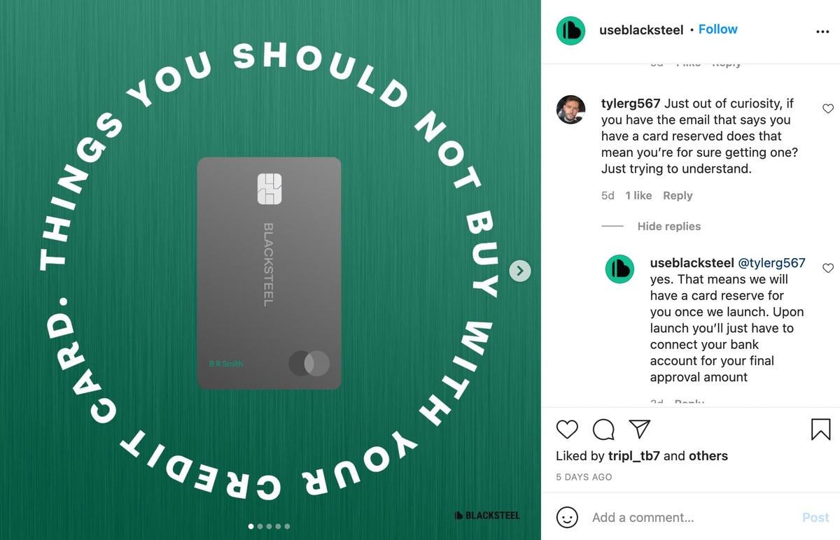 Instagram enagement