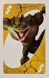 Teenage Mutant Ninja Turtles (2013) Yellow Uno Reverse Card