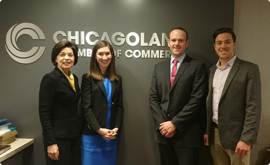 Chicagoland Chamber of Commerce Event