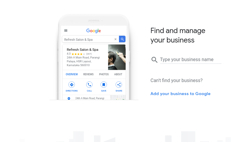 Business to Google My Business Signup