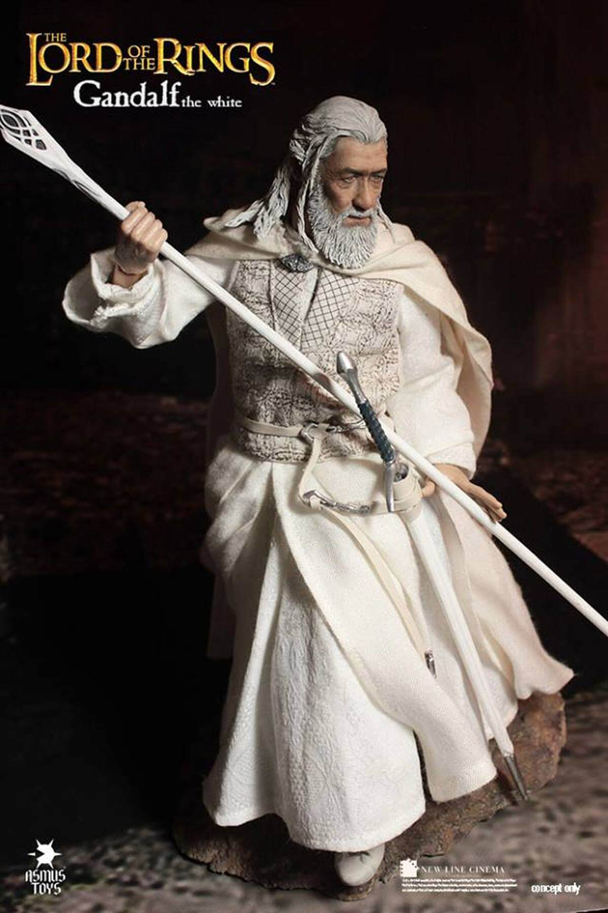 Asmus Toys The Lord of the Rings Gandalf the White 1/6 Scale Figure