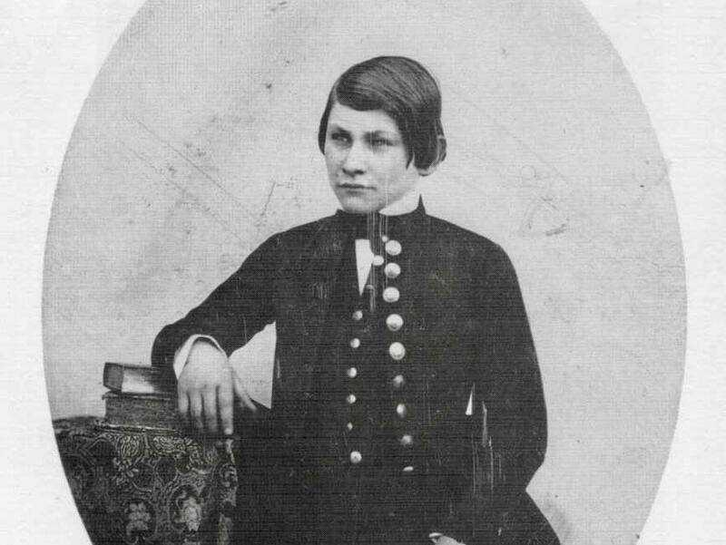 Edouard Manet in 1846, aged 14. He was fashionable even as a boy!