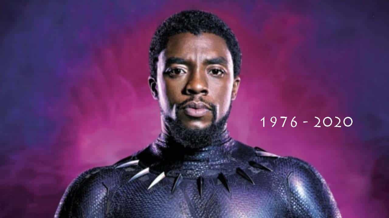 O adeus a Chadwick Boseman - Pantera Negra