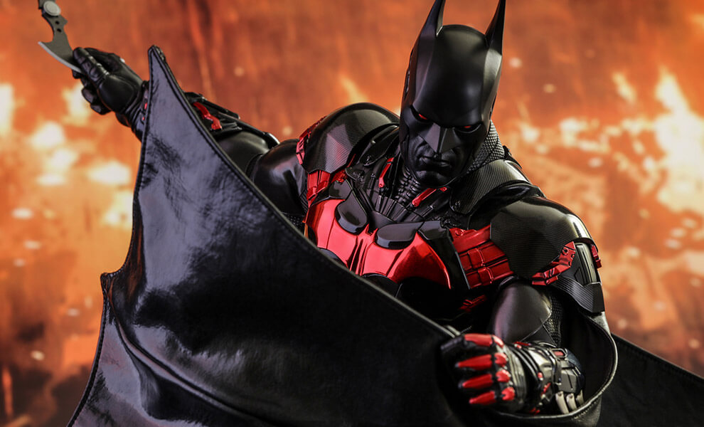 Hot Toys Batman: Arkham Knight VGM29 Batman (Futura Knight Version) 1/6th Scale Collectible Figure
