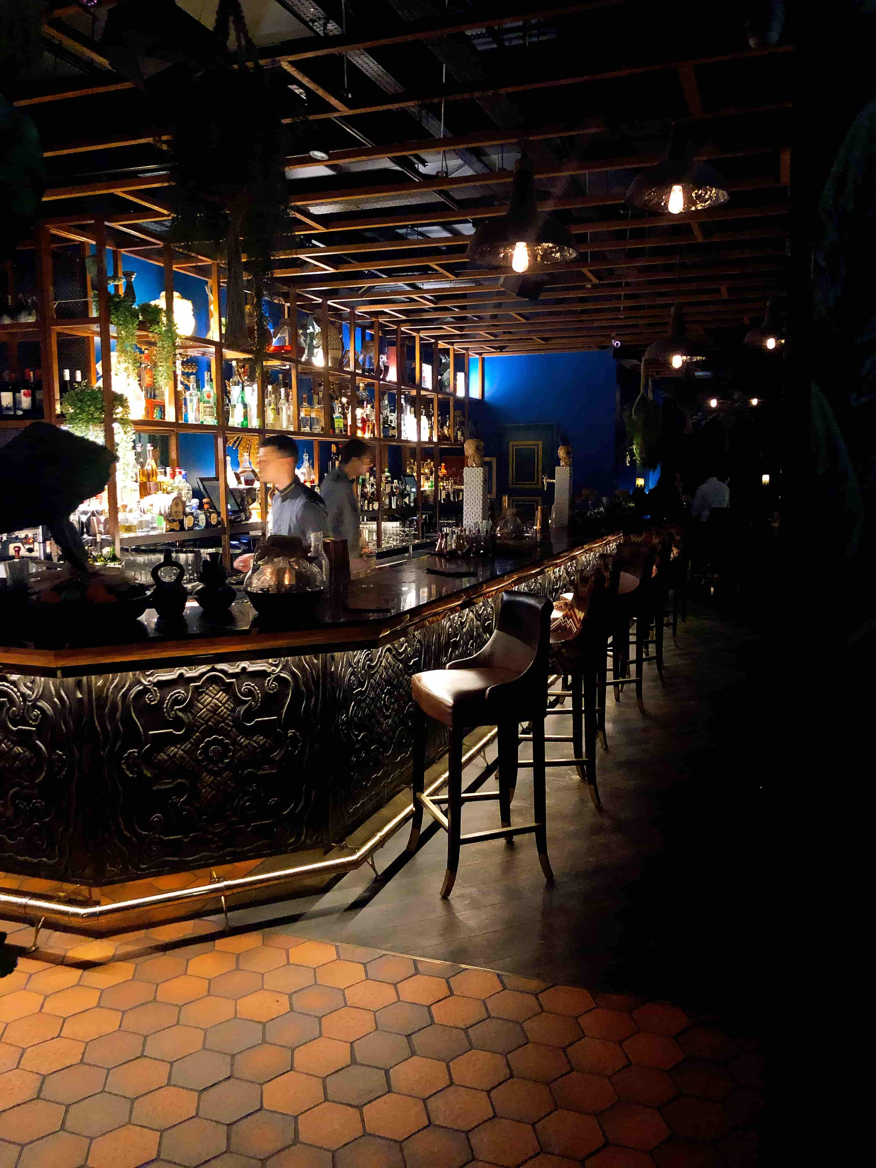Taken by me, absolutely beautiful bar area
