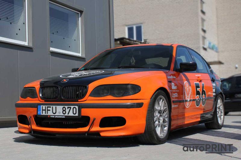 Sportinis klijavimas BMW3