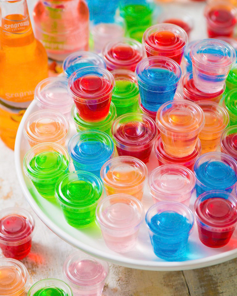 Make-And-Take Tailgate Jelly Shooters Photo