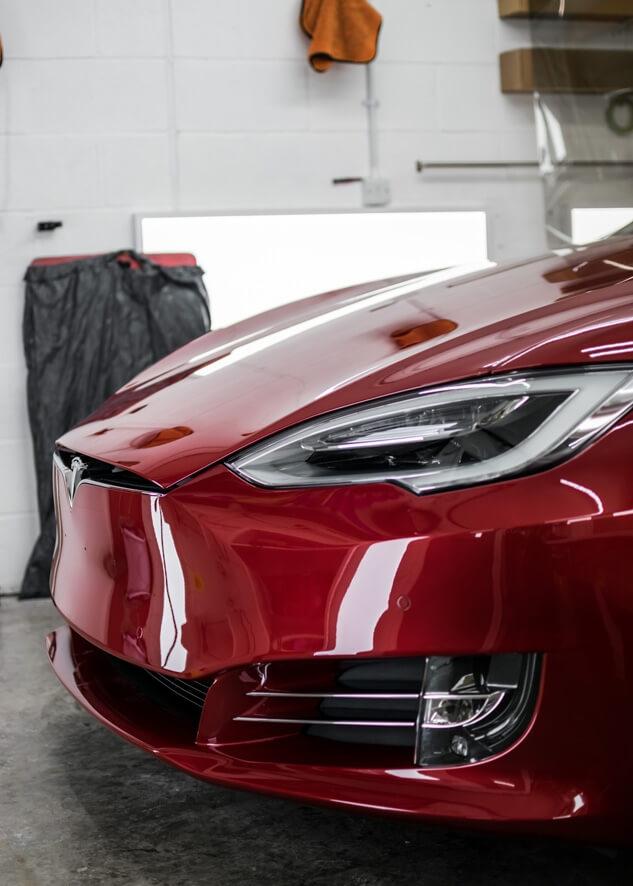 Tesla Model S PPF,Paintwork Protection