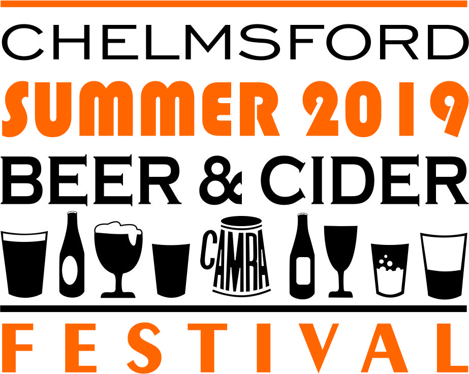 Chelmsford Summer Beer and Cider Festival 2019 logo