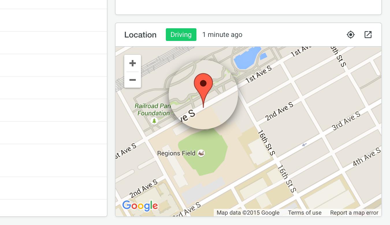 GPS vehicle location