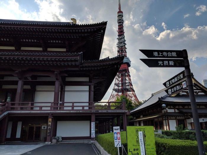 Views of Tokyo Tower