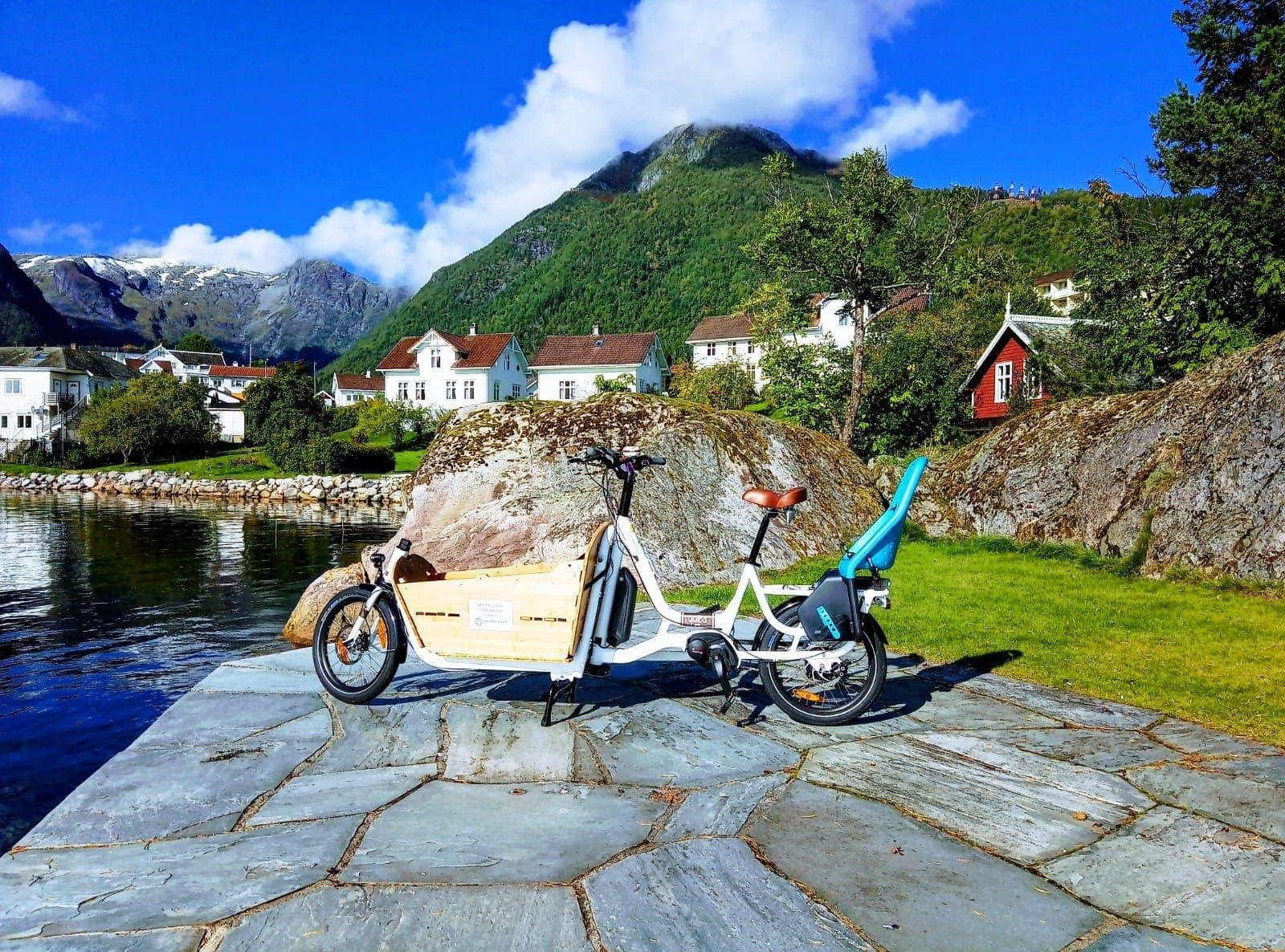 Rent e-Bike & children? - Try our sporty and fun Yuba Supermarche'!